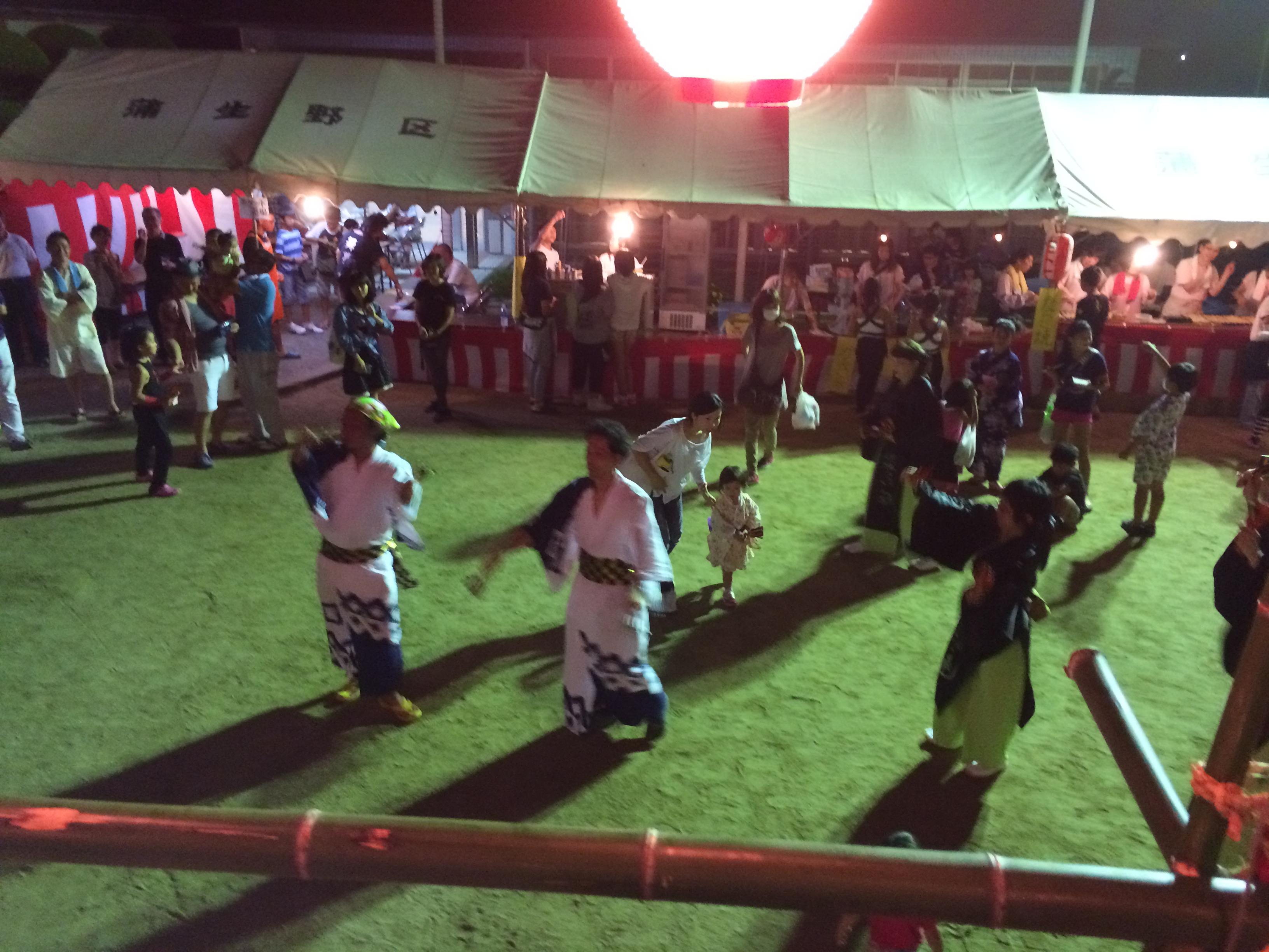 第35回蒲生野盆踊り大会