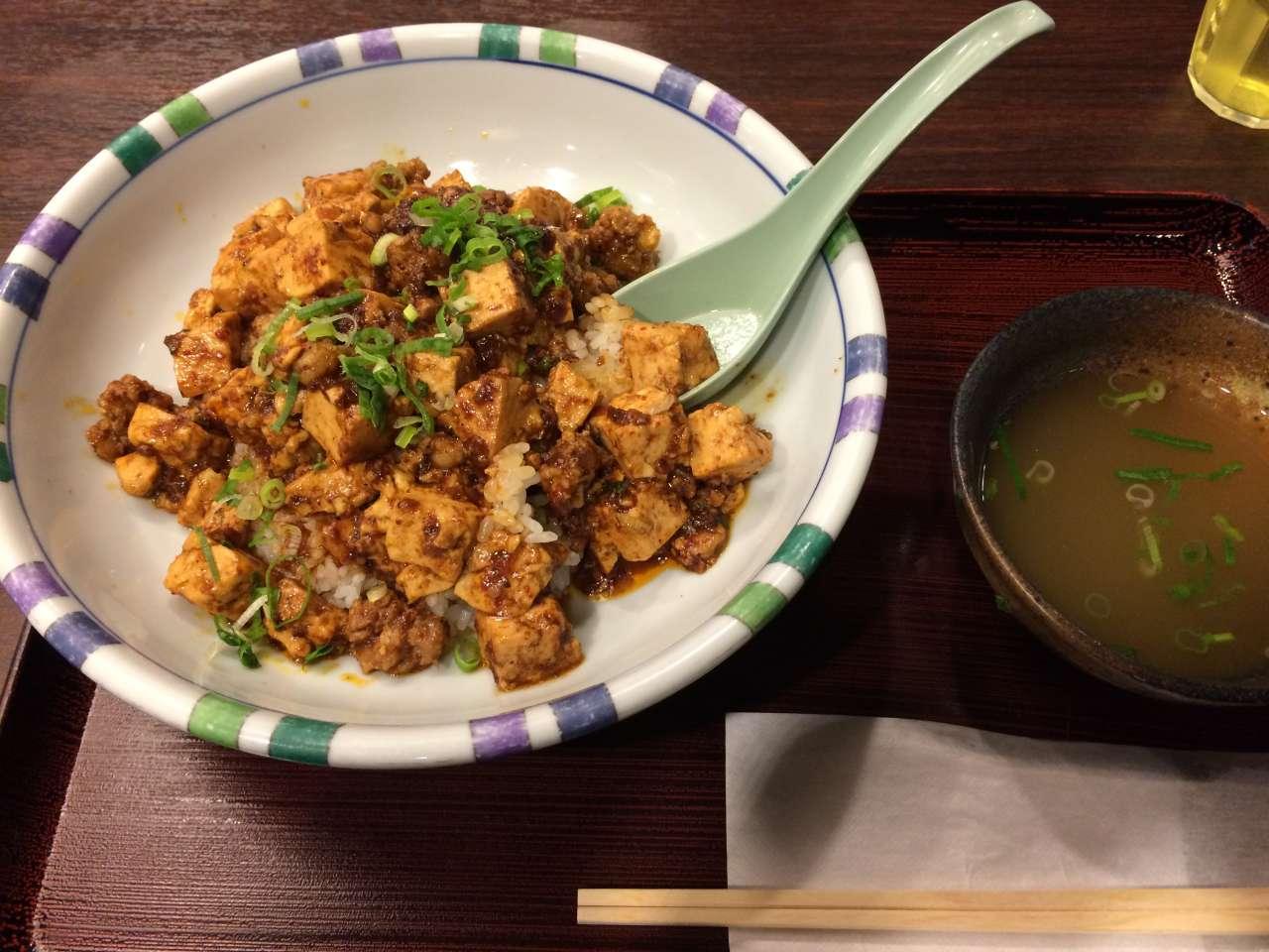 激うま!京丹波ポーク100%の麻婆豆腐丼
