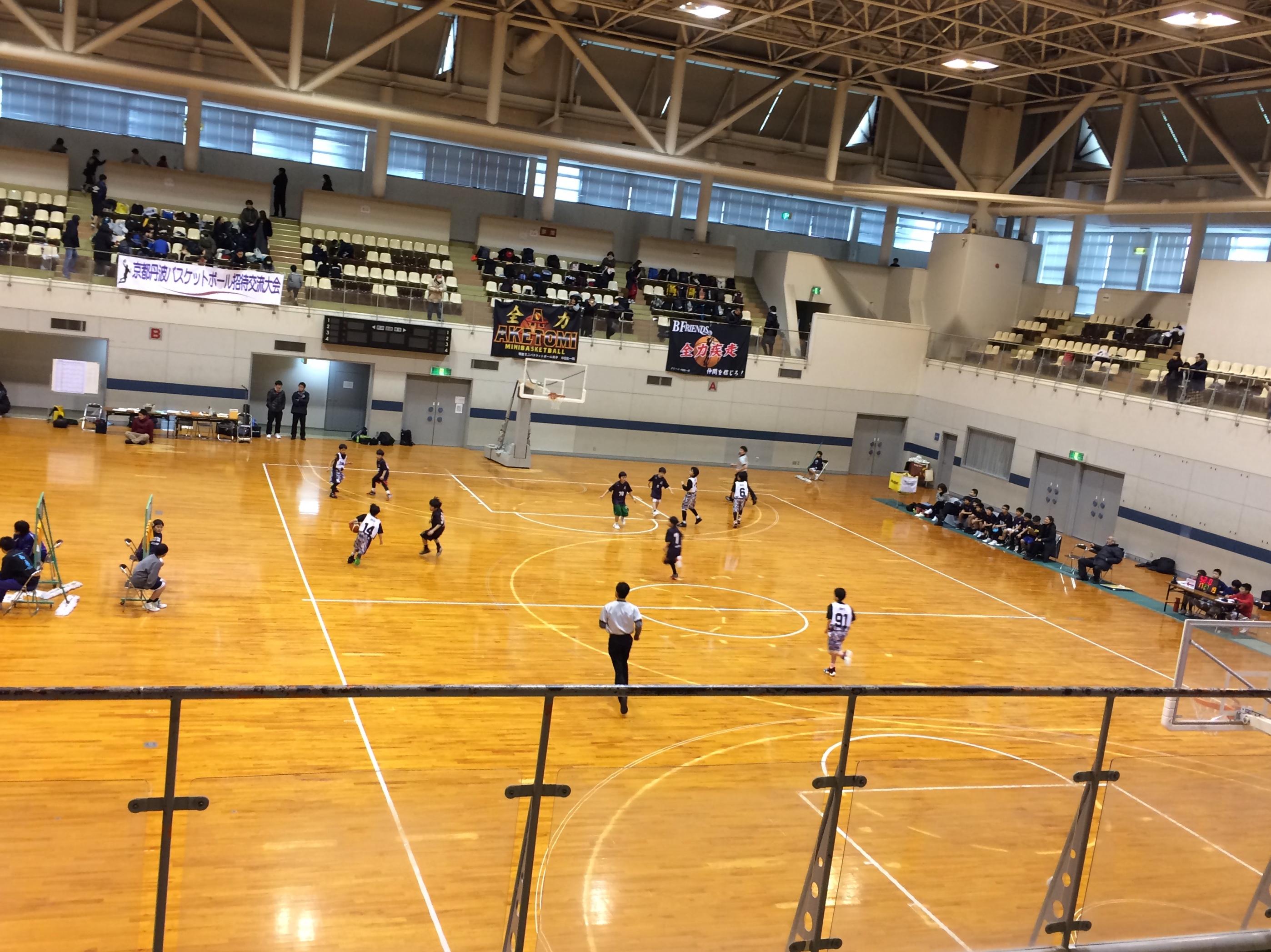 第8回京都丹波バスケットボール招待交流大会